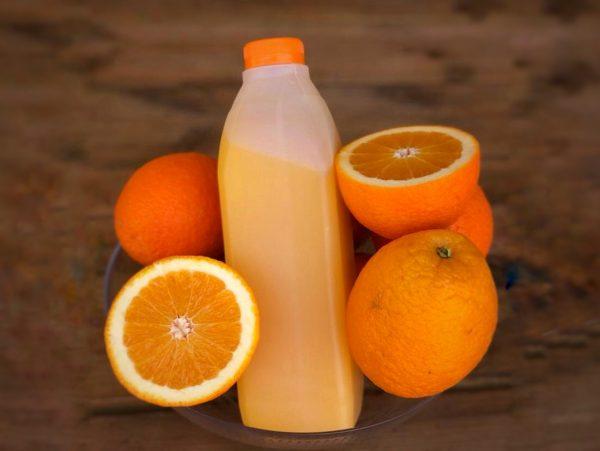מיץ תפוזים סחוט טבעי, 1 ליטר מיץ תפוזים קפוא | משק 77