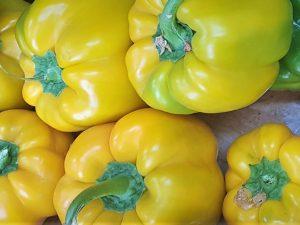 פלפל צהוב (גמבה) מתוק, לפי משקל | משק 77