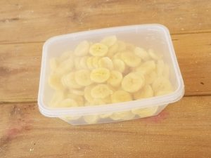 בננה חתוכה קפואה | משק 77