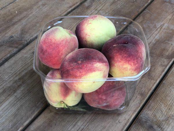 אפרסק לבן במשקל | משק 77
