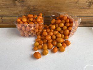 עגבנית שרי כתומה משק 77
